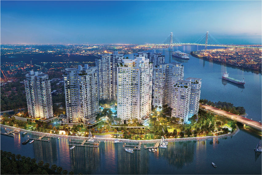 Diamond Island is developed by Kusto Home